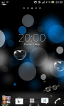 Bubbles live wallpapers screenshot 6/6
