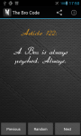 The Bro Code for Android screenshot 1/6