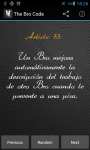The Bro Code for Android screenshot 6/6