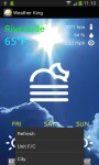 Weather King Forecast screenshot 1/3