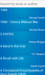 Books And Authors for android screenshot 2/5