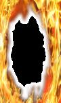 Fire photo frame pics screenshot 1/4