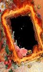 Fire photo frame pics screenshot 2/4