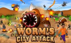 Worm's City Attack - Java screenshot 1/5