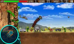 Worm's City Attack - Java screenshot 3/5