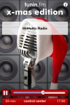 Tunin.FM Christmas Radio screenshot 1/1