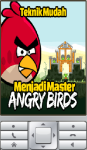 Teknik Mudah Menjadi Master Angry Birds screenshot 1/2