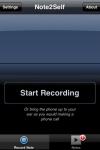 Note2Self Audio Recorder screenshot 1/1