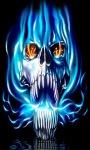 Blue Flame Skull LWP screenshot 2/3