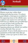 Rules to play Netball screenshot 3/3
