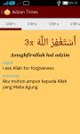 Adzan Times and Quran screenshot 5/6