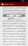Adzan Times and Quran screenshot 6/6
