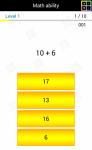 Math ability screenshot 5/6