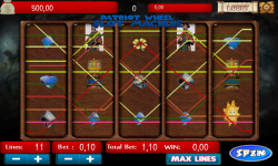 Patriot Wheel Slot Machine screenshot 3/4