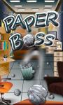 Paper Boss - Java screenshot 1/5