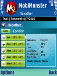 Weather screenshot 1/1