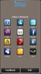 imo beta for symbian screenshot 1/6