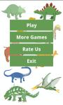 Dinosaurs Memory Game screenshot 1/6