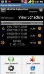 Manner Schedule screenshot 1/1