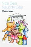 Nice Bear Naughty Bear Reward chart for children screenshot 1/6