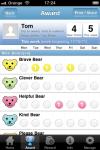 Nice Bear Naughty Bear Reward chart for children screenshot 3/6