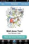 Nice Bear Naughty Bear Reward chart for children screenshot 4/6