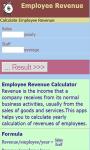 Employee Revenue Calculator screenshot 2/3