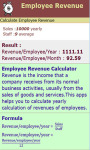 Employee Revenue Calculator screenshot 3/3