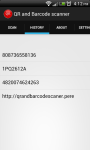 QR and Bar code scanner for Android screenshot 2/6