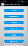 Nepali Static Keypad IME screenshot 6/6
