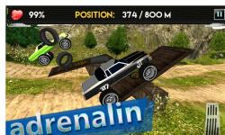 Up Hill Monster Car Racing screenshot 2/4