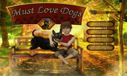 Free Hidden Object Game - Must Love Dogs screenshot 1/4
