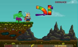 Hulk Punch Thor screenshot 1/3