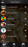 New Popular Ringtones Free screenshot 2/4