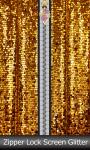 Zipper Lock Screen Glitter screenshot 1/6