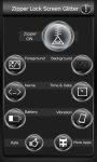 Zipper Lock Screen Glitter screenshot 2/6