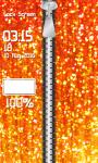 Zipper Lock Screen Glitter screenshot 4/6