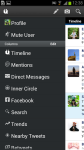UberSocial for Android screenshot 3/6