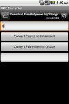 C2F Converter screenshot 1/1