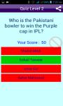 Cricket Quiz on IPL Sports screenshot 5/6