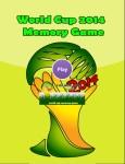 World Cup 2014 Memory Game screenshot 1/2