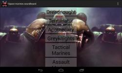 Warhammer 40k soundboard screenshot 1/2