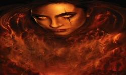 Flaming Vampire Live Wallpaper screenshot 2/3