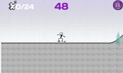 Skateboarding Stickman screenshot 3/6
