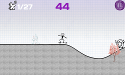 Skateboarding Stickman screenshot 6/6
