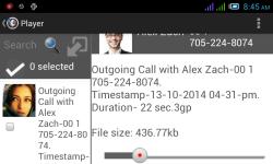 Automatic Call Recorder Plus screenshot 5/6