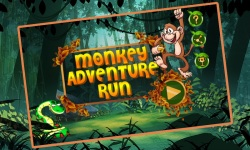 Monkey Adventure Run screenshot 1/4