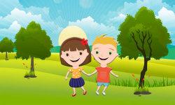 Puzzles for kids: landscape screenshot 1/6