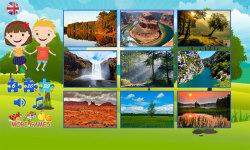 Puzzles for kids: landscape screenshot 2/6