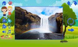 Puzzles for kids: landscape screenshot 4/6